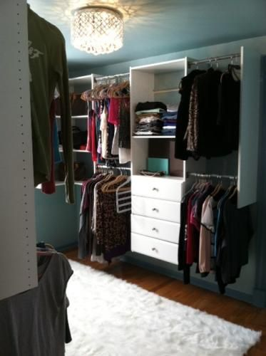 17 Best images about turning a bedroom into a closet on Pinterest | Closet  organization, Hanging clothes and Closet