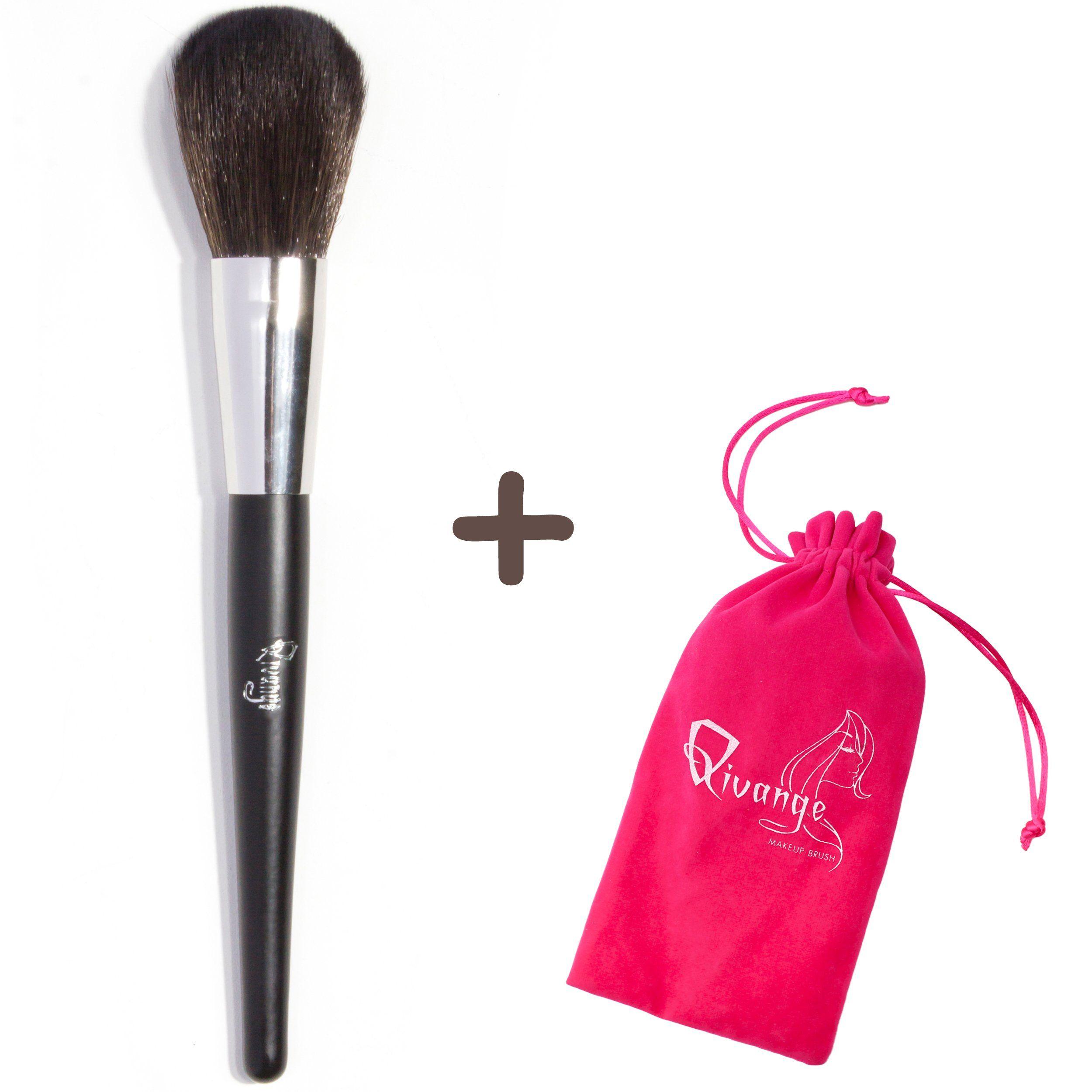 Qivange Face Brush, Vegan Powder Brush Foundation Blush