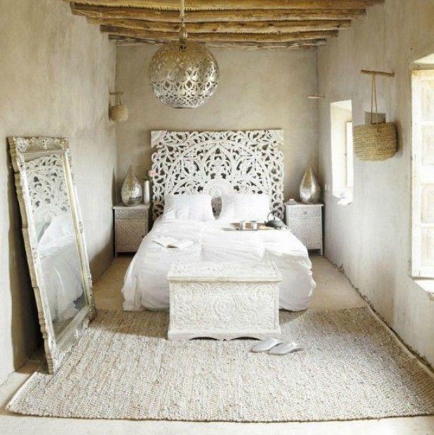 Slaapkamer in Marokkaanse sfeer | MY CASA/BEDROOM | Pinterest ...