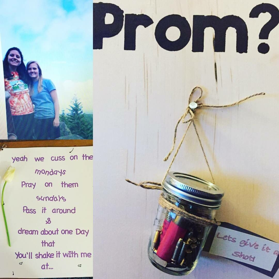 Cute country song prom proposal! | great idea in 2019 | Prom