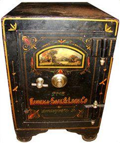 Eureka Safe Amp Lock Company Antique Safe Safes And Vaults