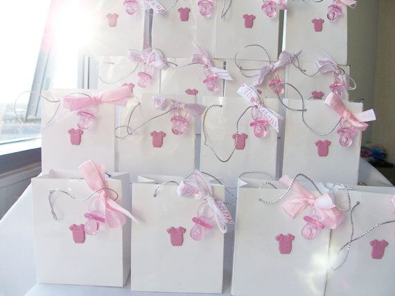 16 Pink baby girl party favours baby showerbirthday favours