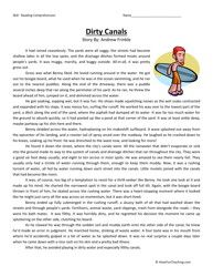 Sixth Grade Reading Comprehension Worksheet - Dirty Canals ...