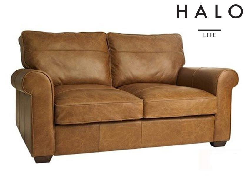 Halo Hudson 2 Seater Sofa Leather Sofa 2 Seater Sofa Seater