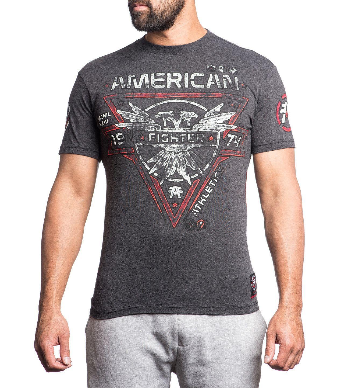 American Fighter Men's Bay State Artisian Short Sleeve Shirt [FM2704]