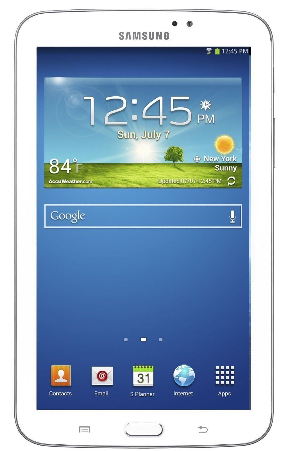 Samsung Galaxy Tab 3 Sm T210 8gb 7 120ghz 1gb Android 41 Wi Fi Grand 2 Jellybean Qualcomm Snapdragon Tablet White Price 14950 Free Shipping