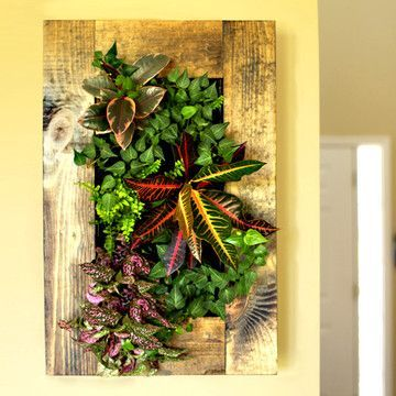 GroVert Living Wall Planter From Bright Green
