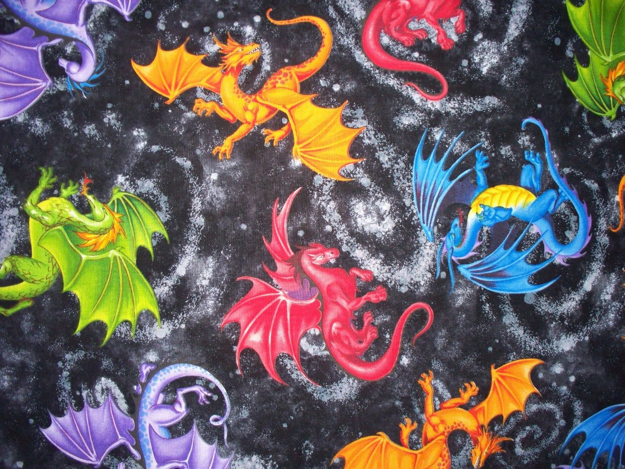 this is such a visually stunning fun fabric it is gorgeous