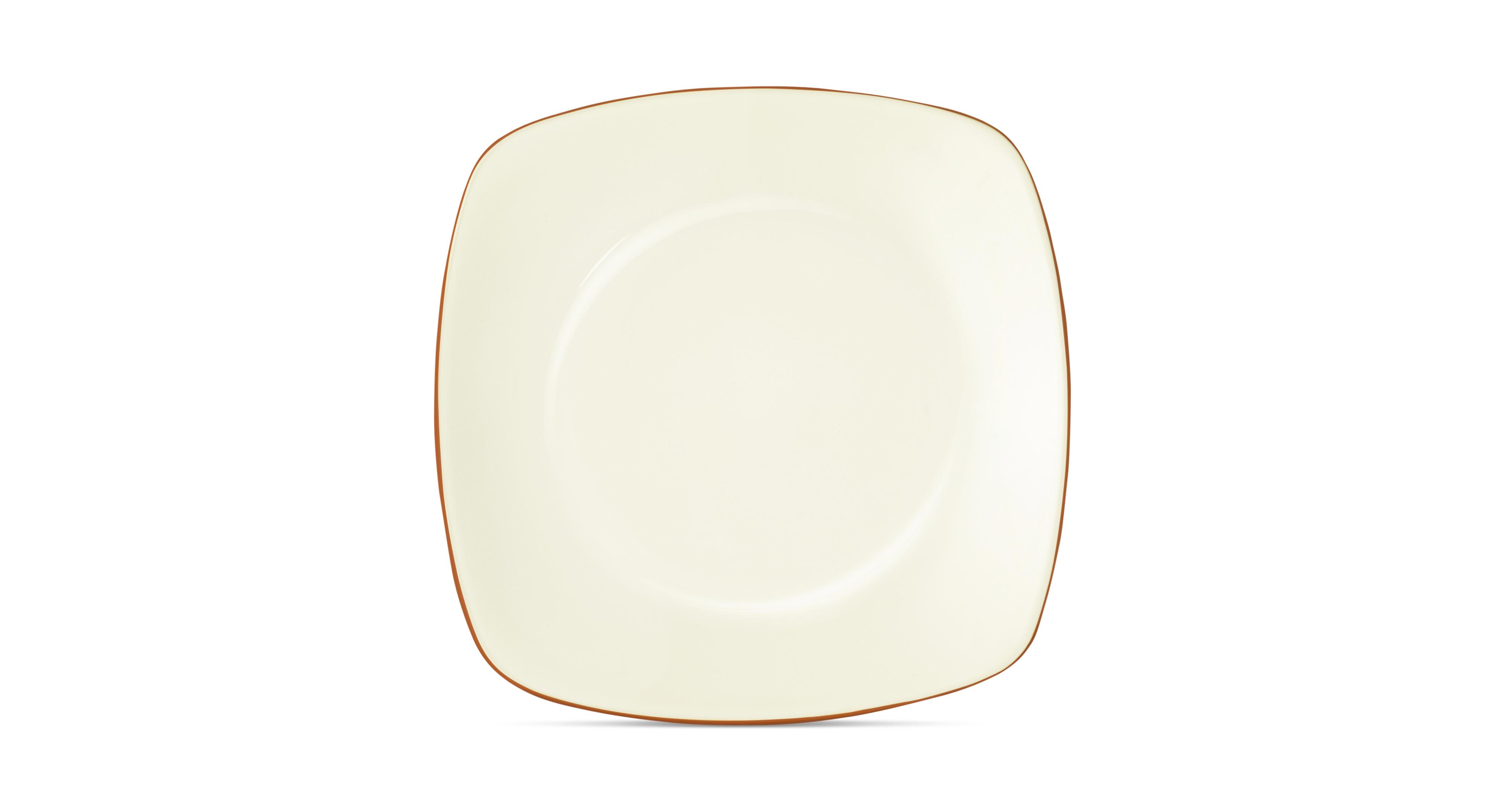 Noritake Dinnerware, Colorwave Terra Cotta Square Platter