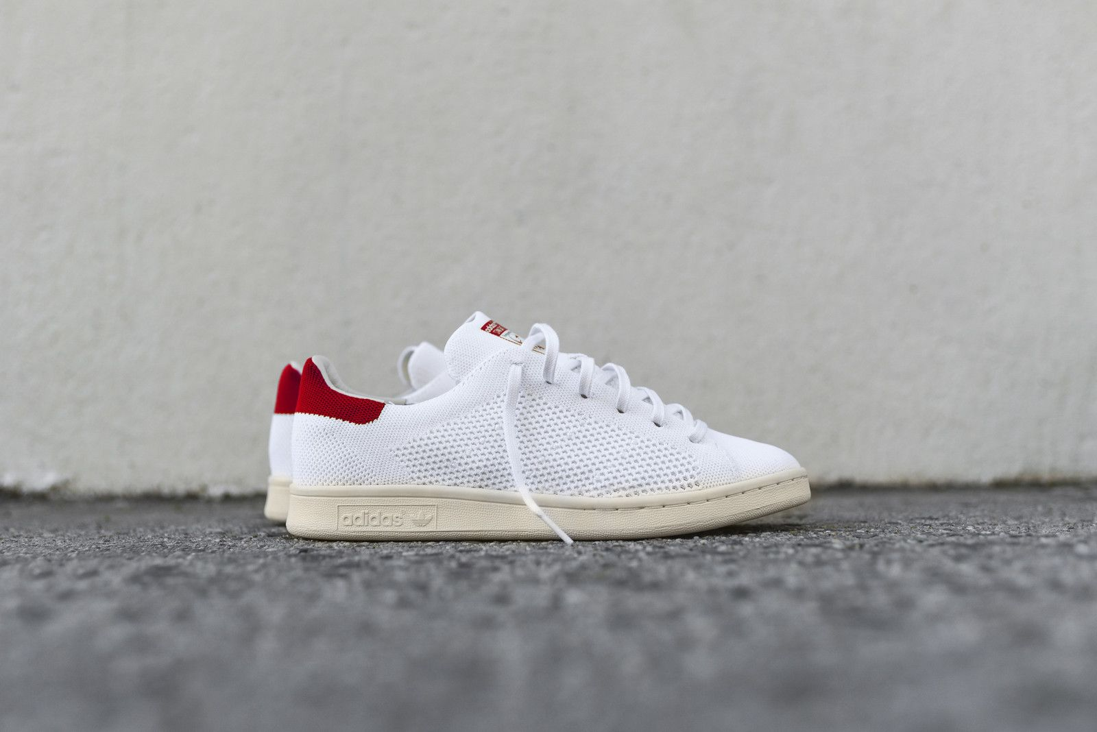 competitive price cbce0 93900 adidas Originals Stan Smith PK - White / Red | Shoes Şakir ...