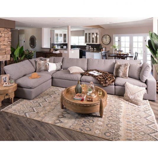 Lounge 5pc 2 Corners Amp 3 Armless Chairs Jerome S