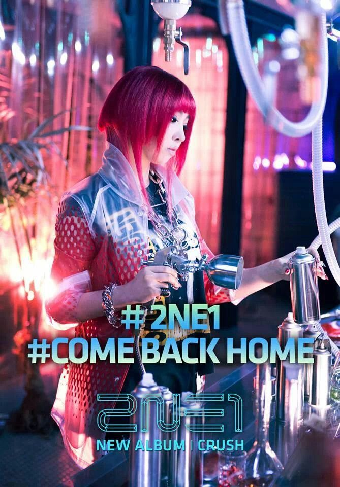 2ne1 come back home live performance reaction pictures.