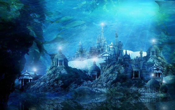 Atlantis, the lost city ~ Plato described Atlantis as a naval force island that around 9000 BC, it contained most parts of Western Europe and North America, but in one day disappeared below the sea level. Although even in the time of Plato, the story of Atlantis was considered as a myth, nowadays it attracts big attention among adventurers and historians.