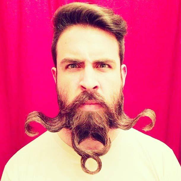 Épinglé Sur Barbes Et Moustaches