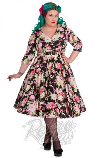 6f997938aaa2 Retro Glam - Hell Bunny Black Dahlia Dress