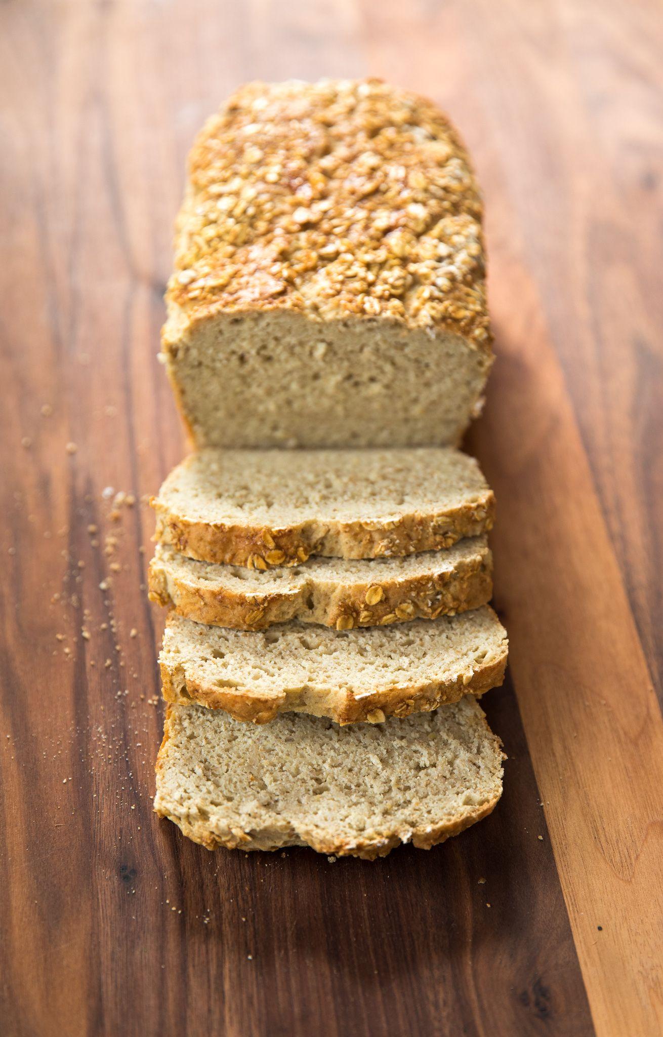 Gluten Dairy Free Oatmeal Bread Dairy Free Bread Machine Recipe Oatmeal Bread Dairy Free Bread