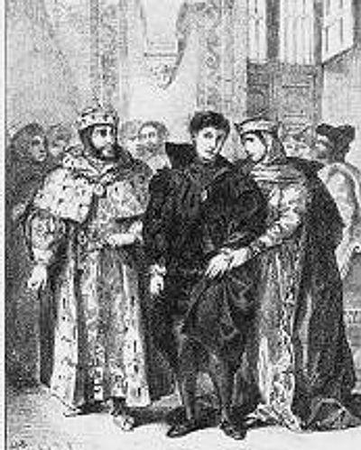 Claudius and Gertrude's wedding! #royalcouple