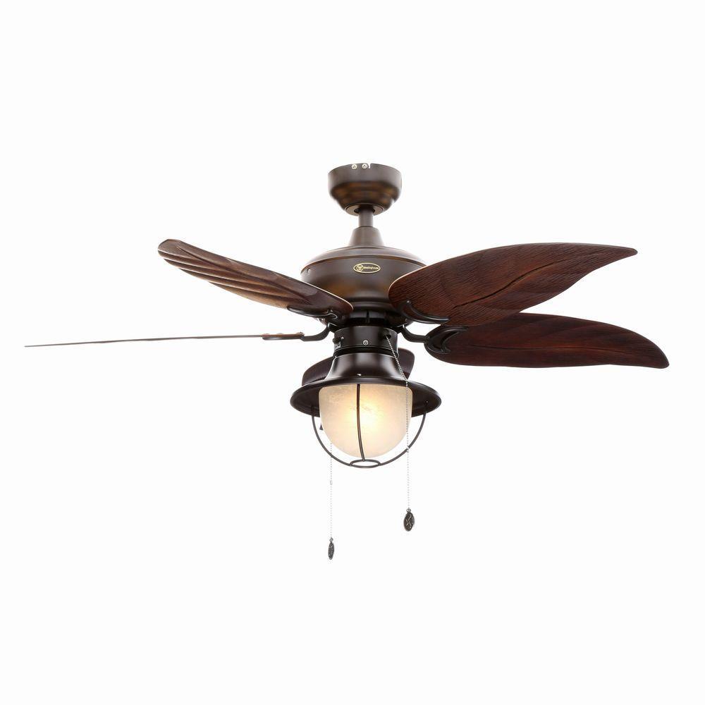 Westinghouse Oasis 48 In Indoor Outdoor Oil Rubbed Bronze Ceiling Fan Bronze Ceiling Fan Ceiling Fan Outdoor Ceiling Fans