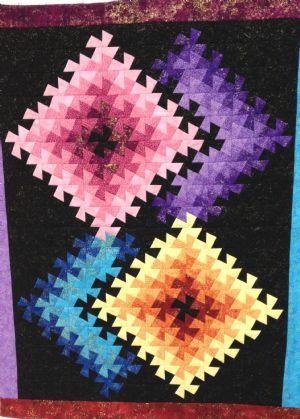 Twister Illusions Quilt Kit