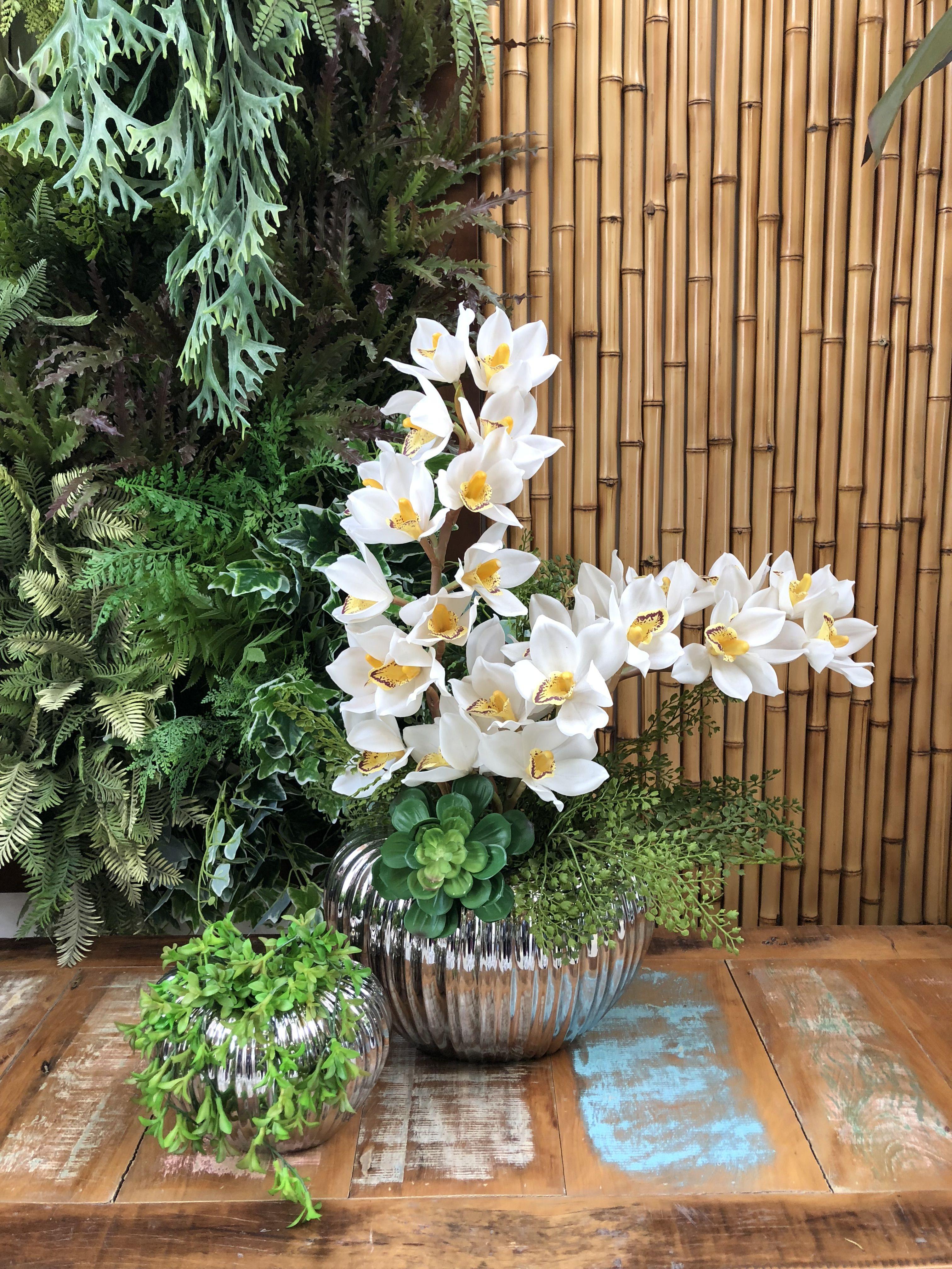 Art Lilac  Arranjos Florais, Flores Artificiais, Orqu Deas Artificiais