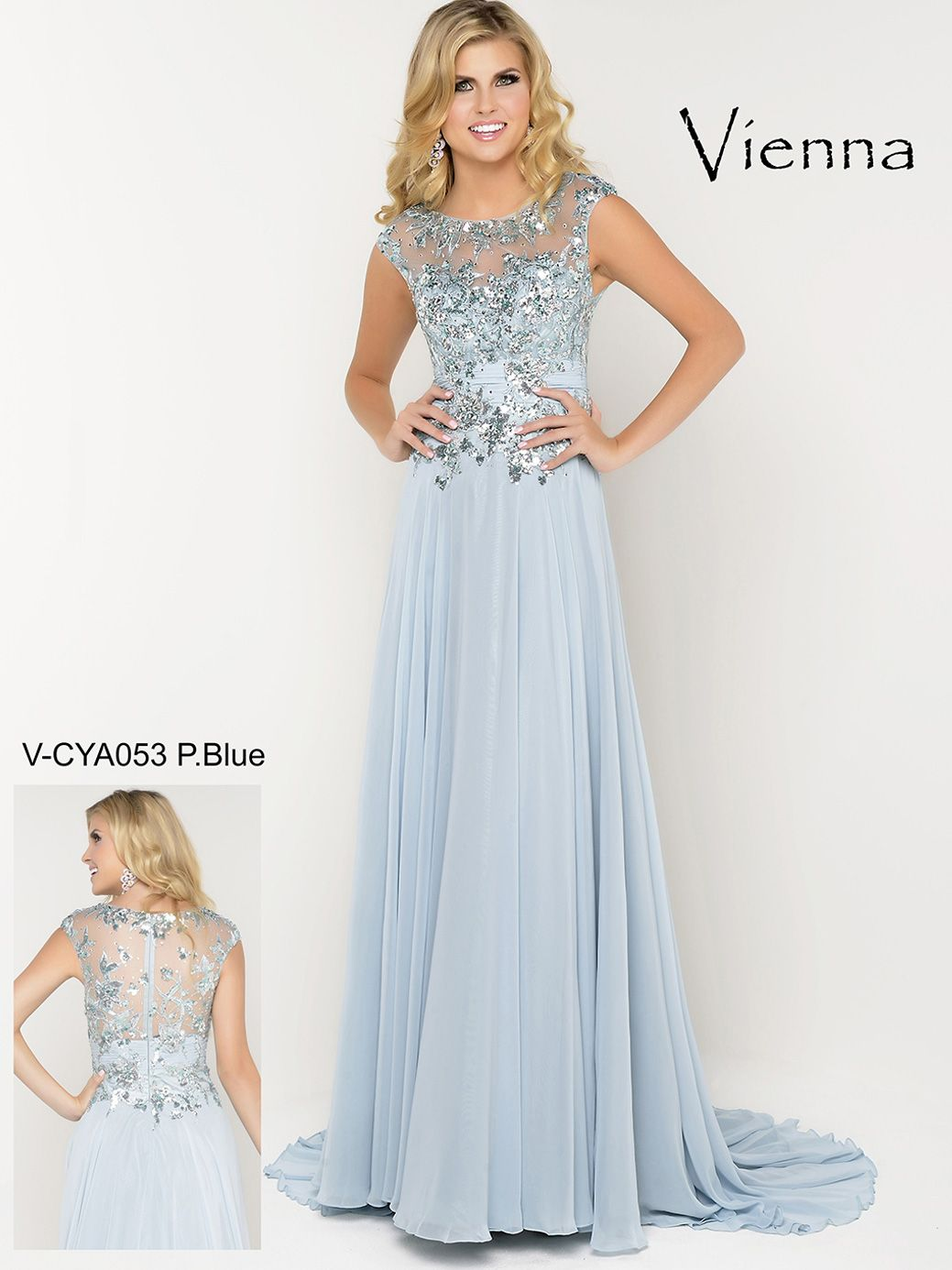 Elegance Has Never Looked Better Than This Striking Vienna Prom Dress This Gorgeous Vienna Prom D Cap Sleeve Prom Dress Prom Dresses Prom Dresses Lace Sleeves [ 1386 x 1039 Pixel ]