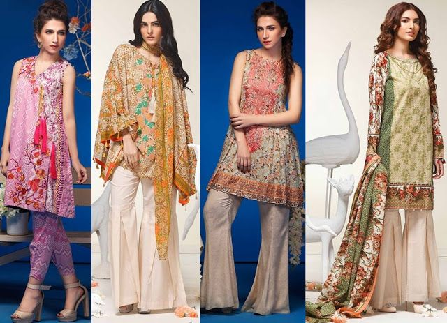 a3a62c5228 Nadia Hussain Lawn dresses Collection 2019 for Summer Latest Design ...