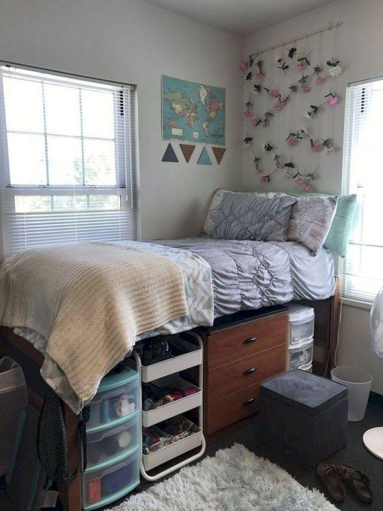 45 Best Genius Dorm Room Storage Organization Ideas