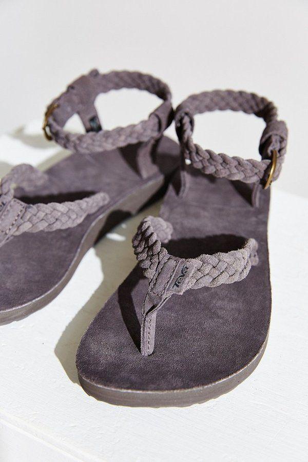 181252ed67cd Teva Original Suede Braid Sandal