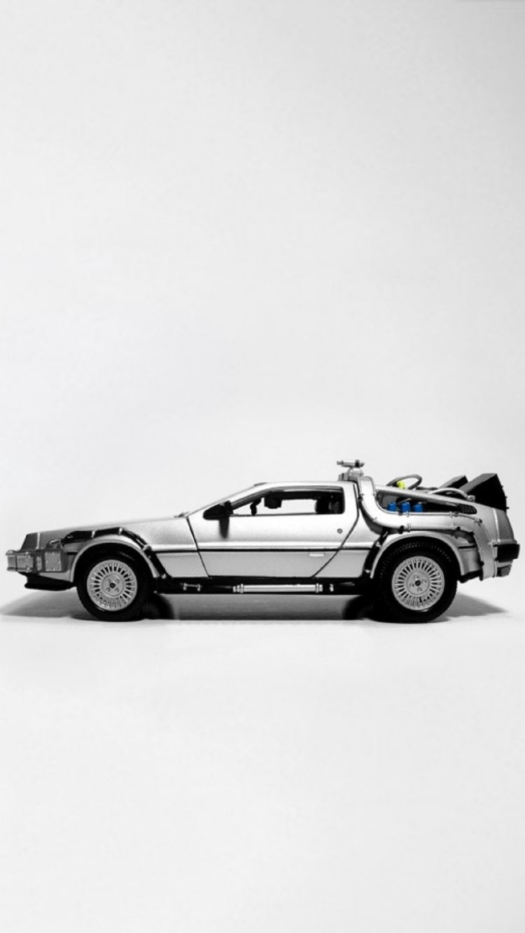 Back To The Future Crest Doc Brown Bttf Wallpaper Back To Back To The Future Future Iphone Delorean