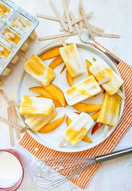 Fresh, homemade popsicles are an ideal summer snack.