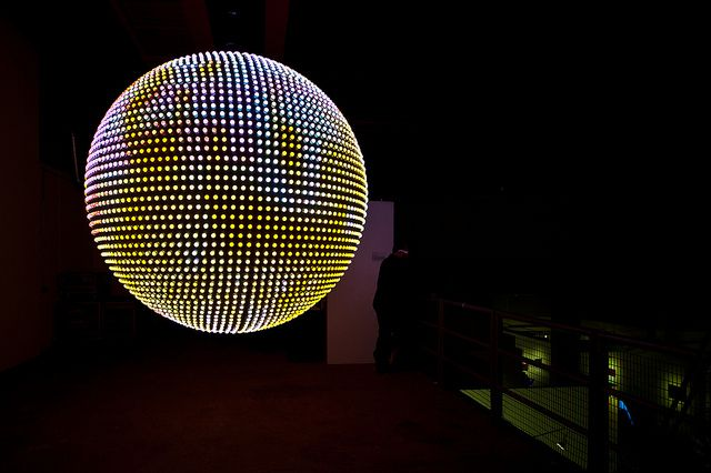 Kinetica Art Fair London 2013 by H A P P Y F A M O U S A R T I S T S, via Flickr