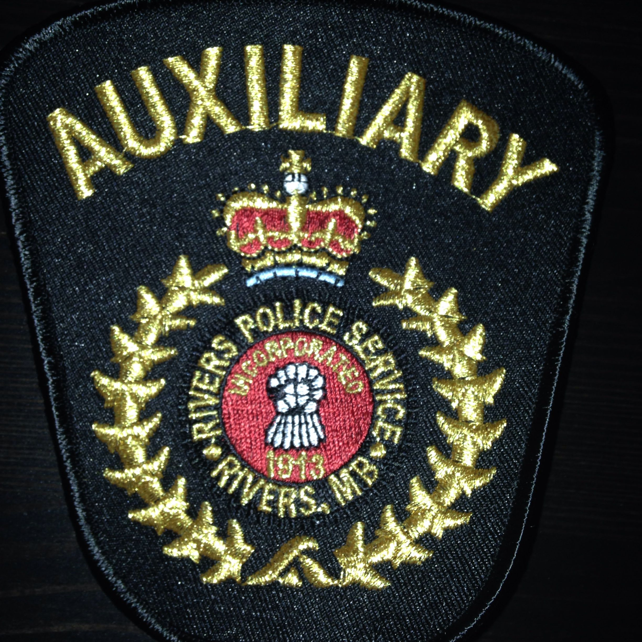 Town of Rivers Auxiliary Police, Manitoba, Canada