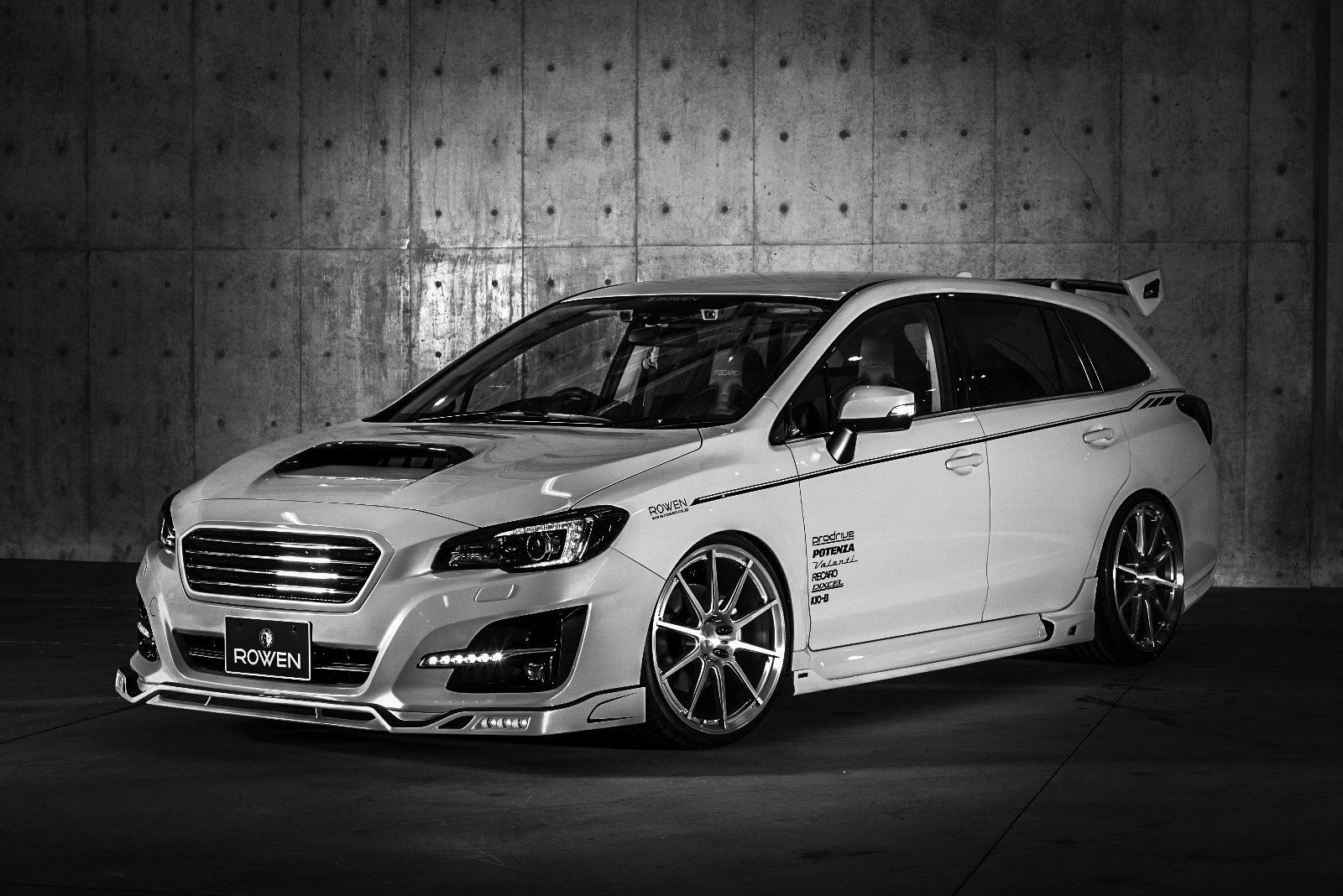 Subaru Levorg Bodykit And Exhaust System By Rowen