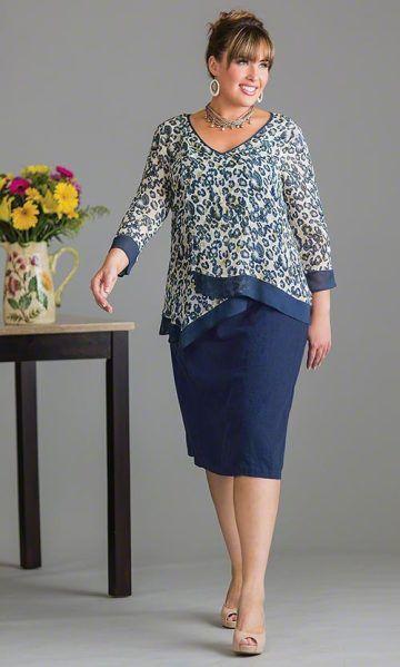 plus size duxbury blouse clothing everyday in 2018 pinterest mode kleider und mode f r. Black Bedroom Furniture Sets. Home Design Ideas