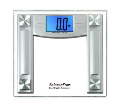 BalanceFrom High Accuracy Digital Bathroom Scale With Extra - Large display digital bathroom scales for bathroom decor ideas