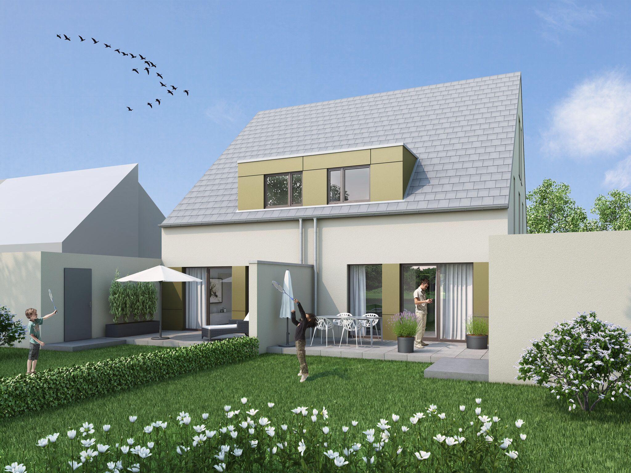Neubau Doppelhaushälften in Niederkrüchten. www.volksbank-immobilienservice.de