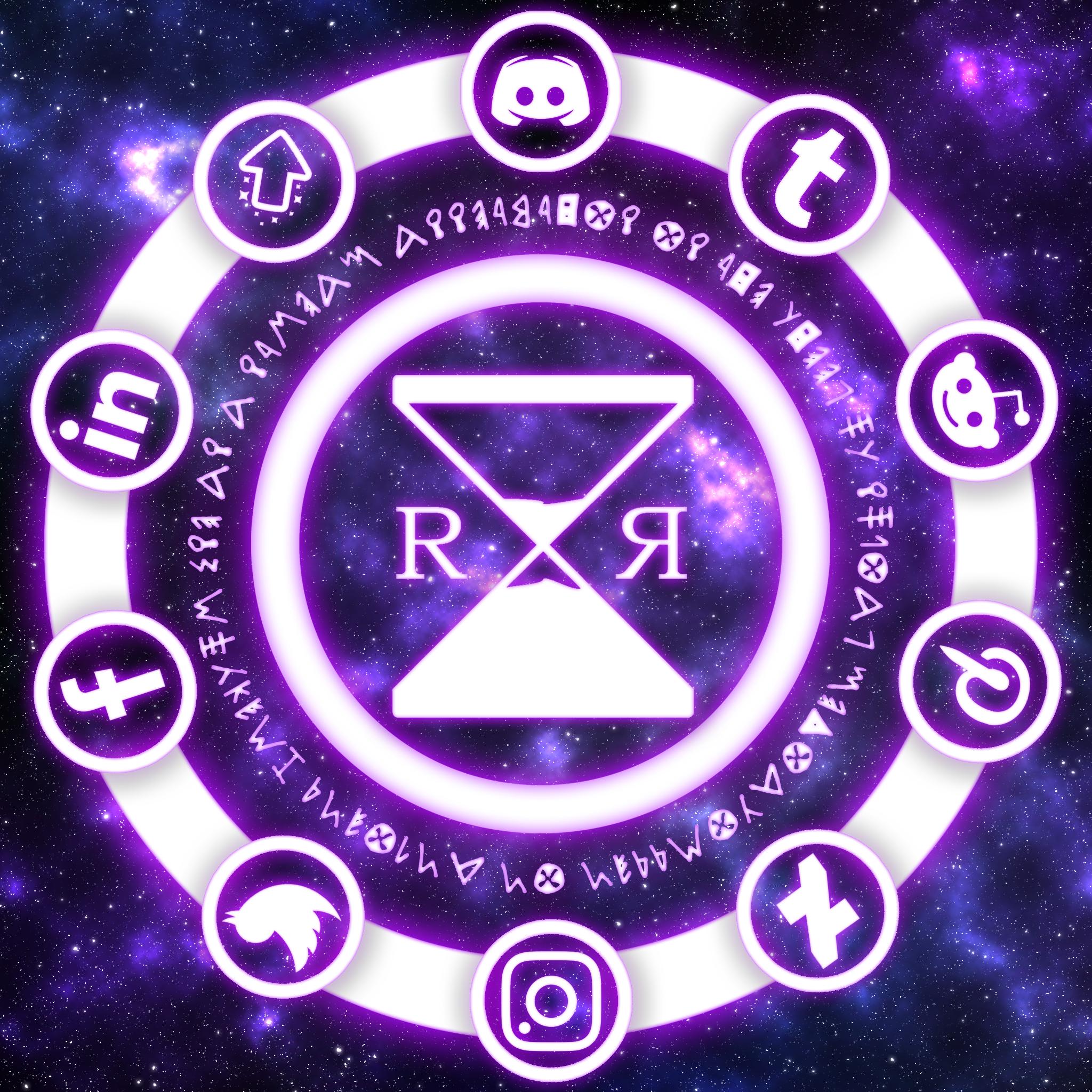 Social Media Wheel Twitch, Art pieces, Let it be