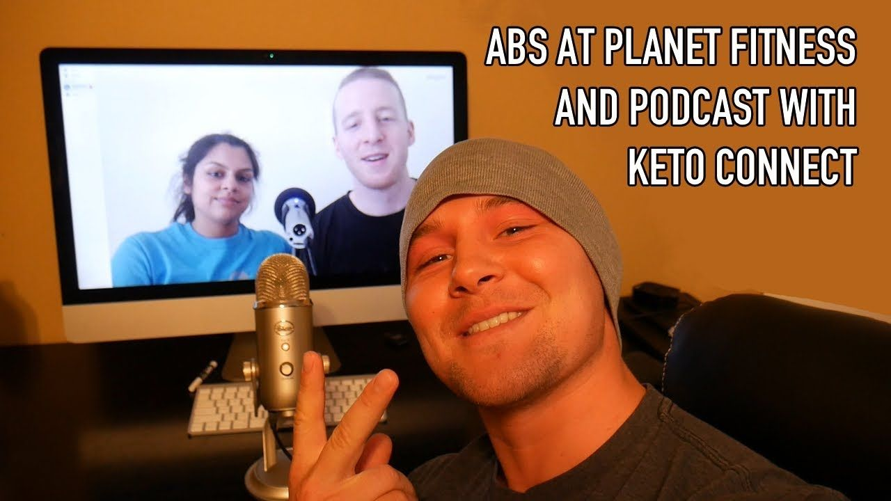 Abs at fitness podcast with keto connect