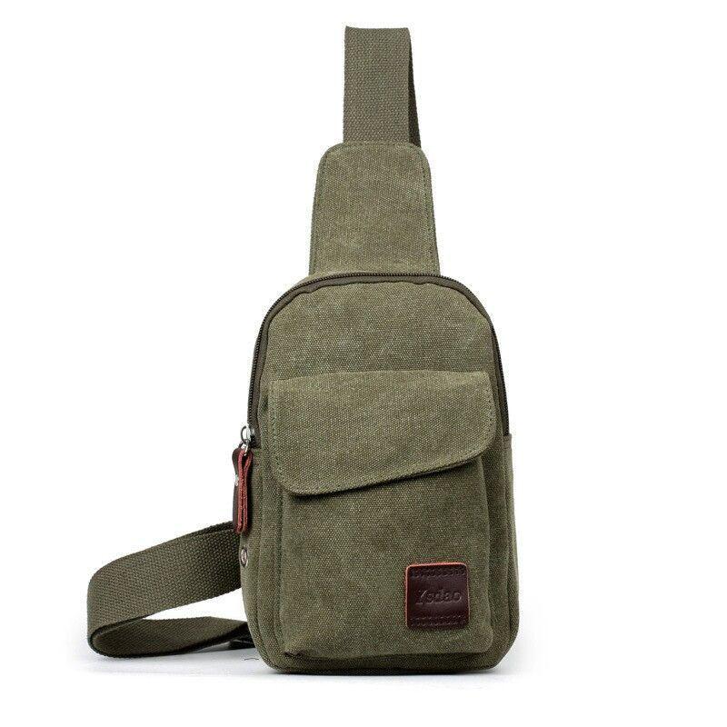 747cb0c312ee Vintage Men s Canvas Satchel Casual CrossBody Messenger Shoulder Bag ...