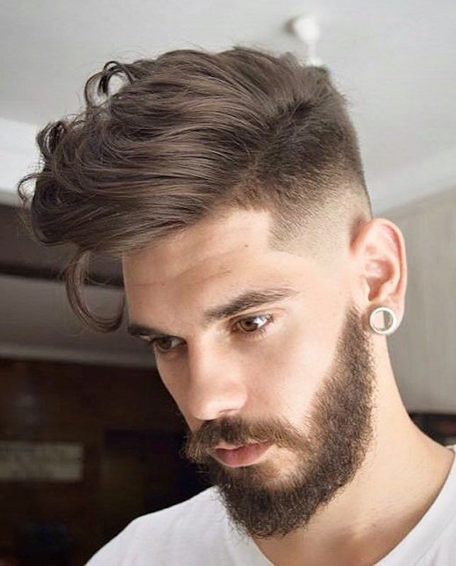 High Fade With Long Hair On Top Mens Hairstyles Hairstyles Haircuts Long Hair Styles Men