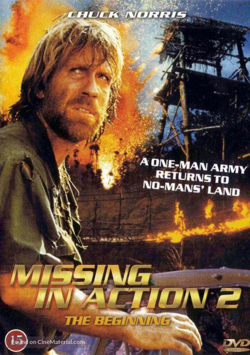 Missing In Action 2 - The Big inning- 1985 film afiş Pinterest
