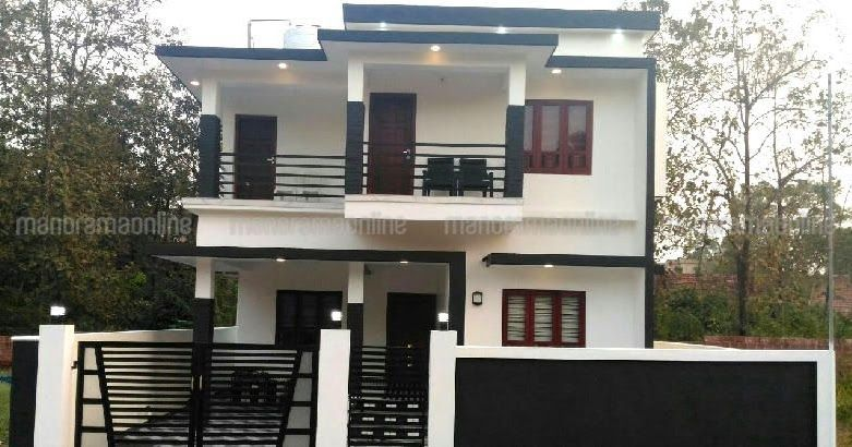 4 Bhk Kerala House Plans With Cost 35 Lakhs New Modern 4 Bedroom House 35 Lakhs 35 Lakhs Budget House Free House Plans Indian House Plans Budget House Plans