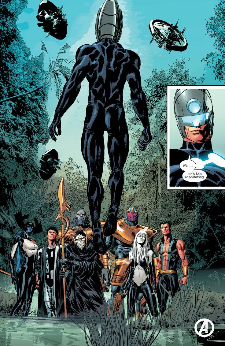 marvel comics black order