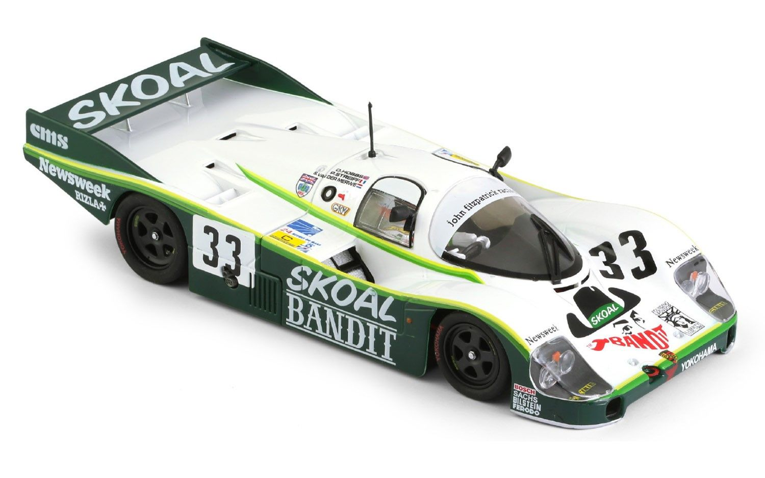 Porsche 956lh 33 3rd le mans 1984 skoal bandit car sica02h the 956 model was created by porsche in 1982 to compete in the new group c categor