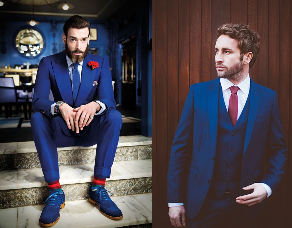 Royal Blue Color is An Attitude - Who Says Men Suits are Only ...
