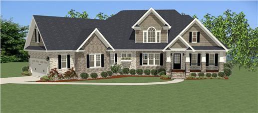 House Plan #189-1008: 4 Bdrm, 2,900 Sq Ft Craftsman Home ... on 4 bedroom ranch home, 4 bedroom modern home, 4 bedroom southern home, 4 bedroom colonial home, 4 bedroom country homes, 4 bedroom cottages,