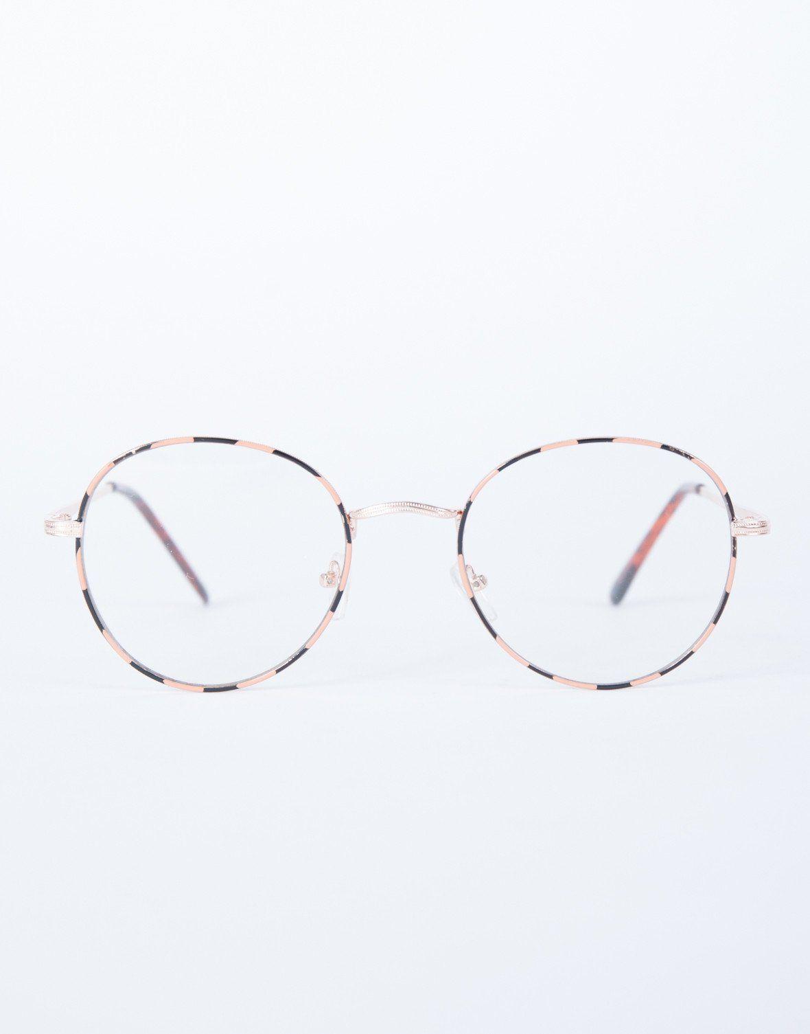 6bba1c588f1 Fun Striped Glasses