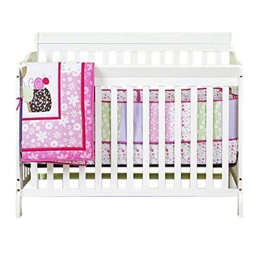 Dream On Me Ashton 5 In 1 Convertible Crib White Cribs 4 In 1 Crib Bed Frame Mattress