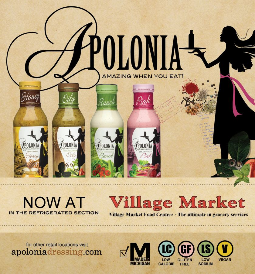Find us in the refrigerated section! villagemarket