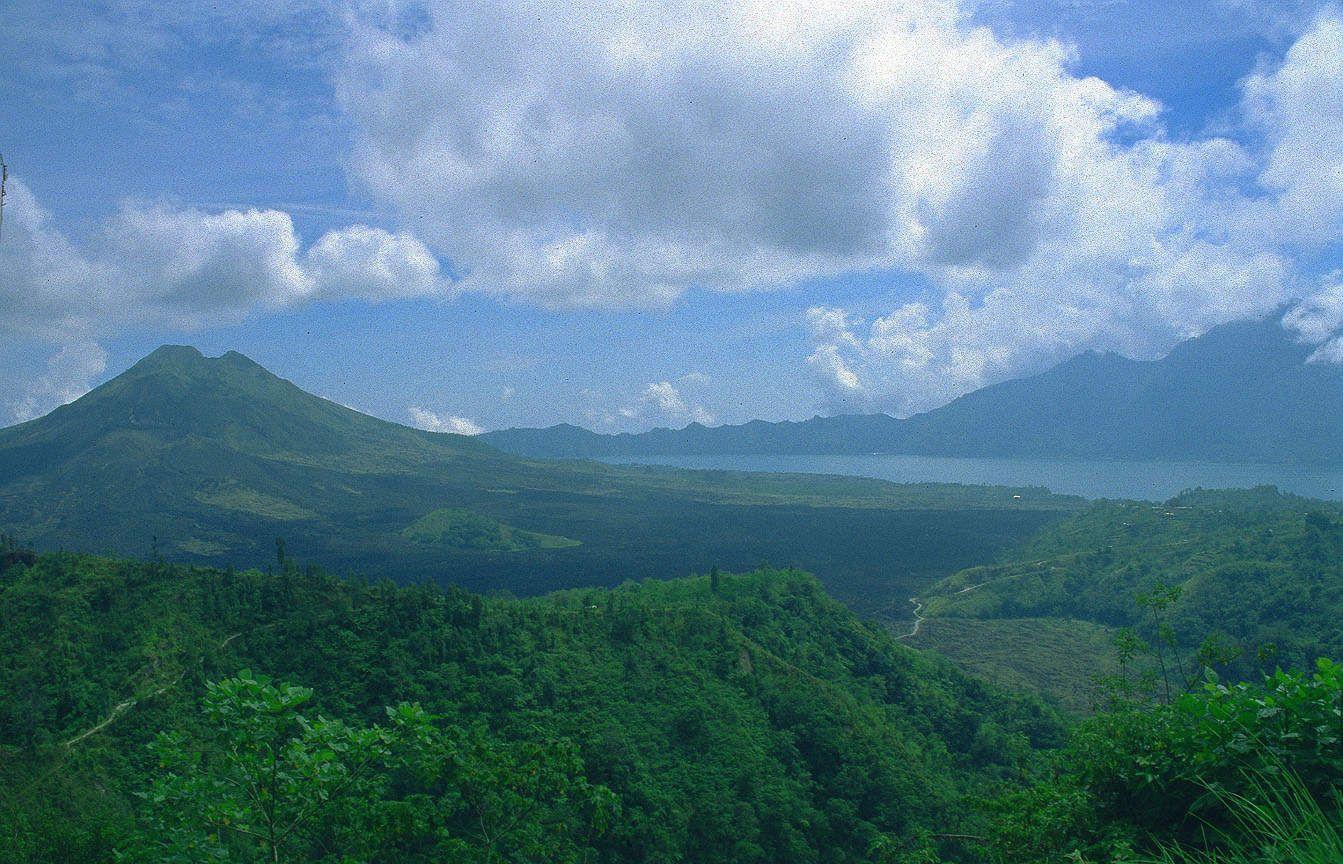 Gunung Batur Kintamani Objek Wisata Di Bali Yang Jarang